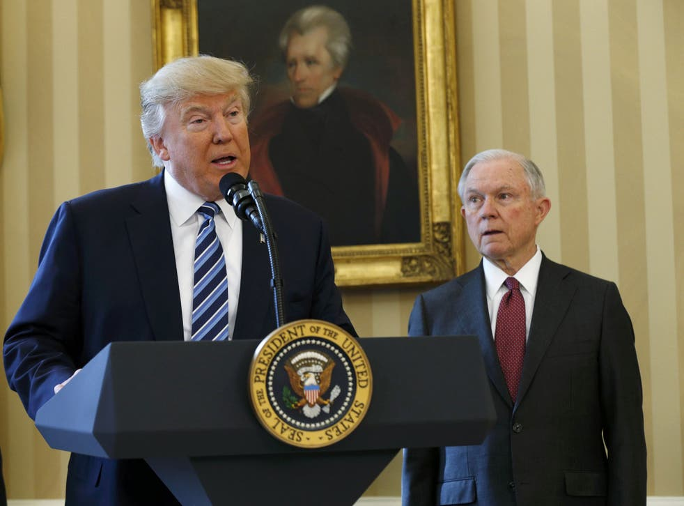 The most serious of the claims maintains that the US President's new Attorney General, Jeff Sessions, met twice with the Russian ambassador during the 2016 election