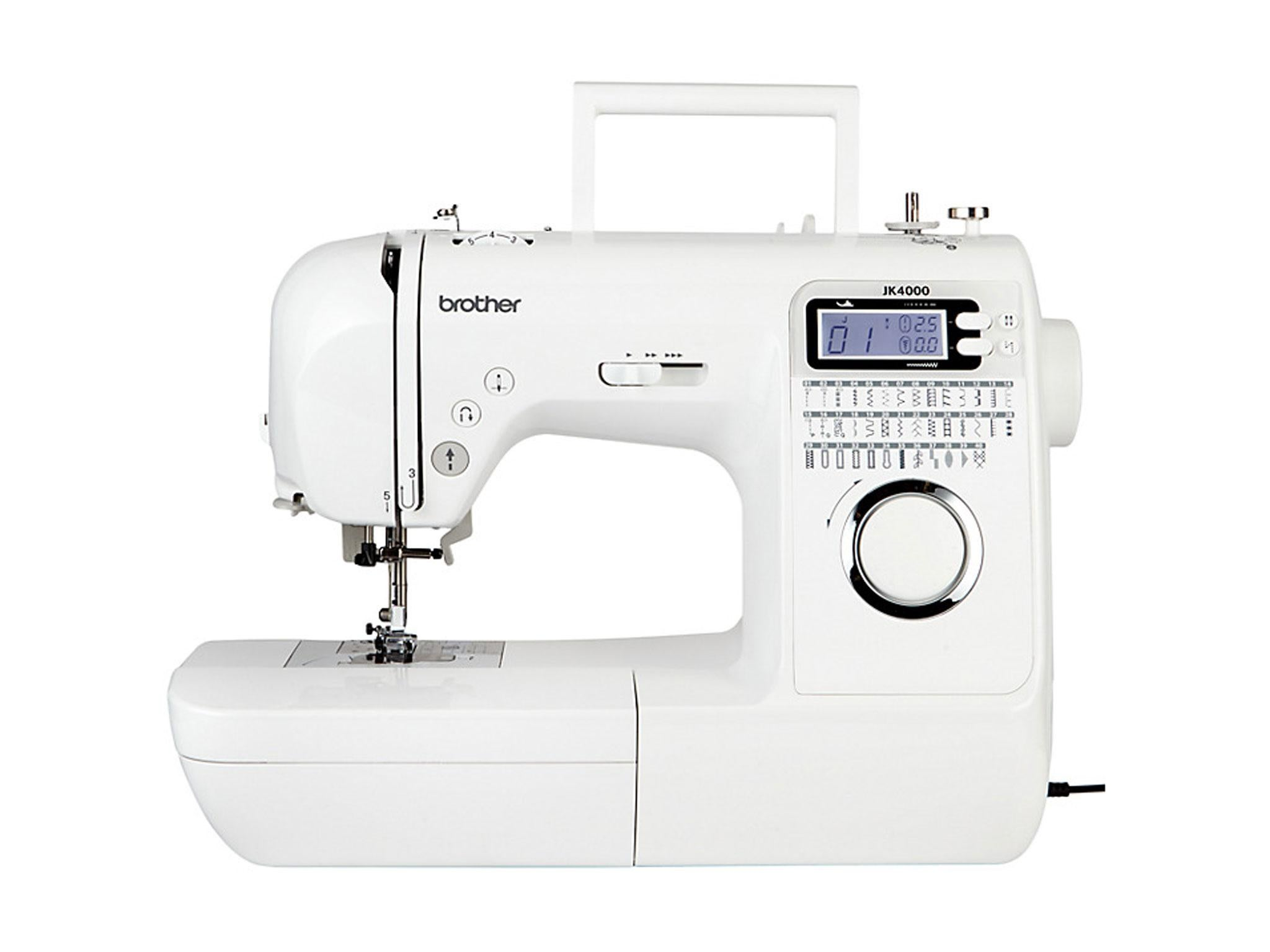 7 best sewing machines for beginners the independent brother jk4000 sewing machine 299 john lewis fandeluxe