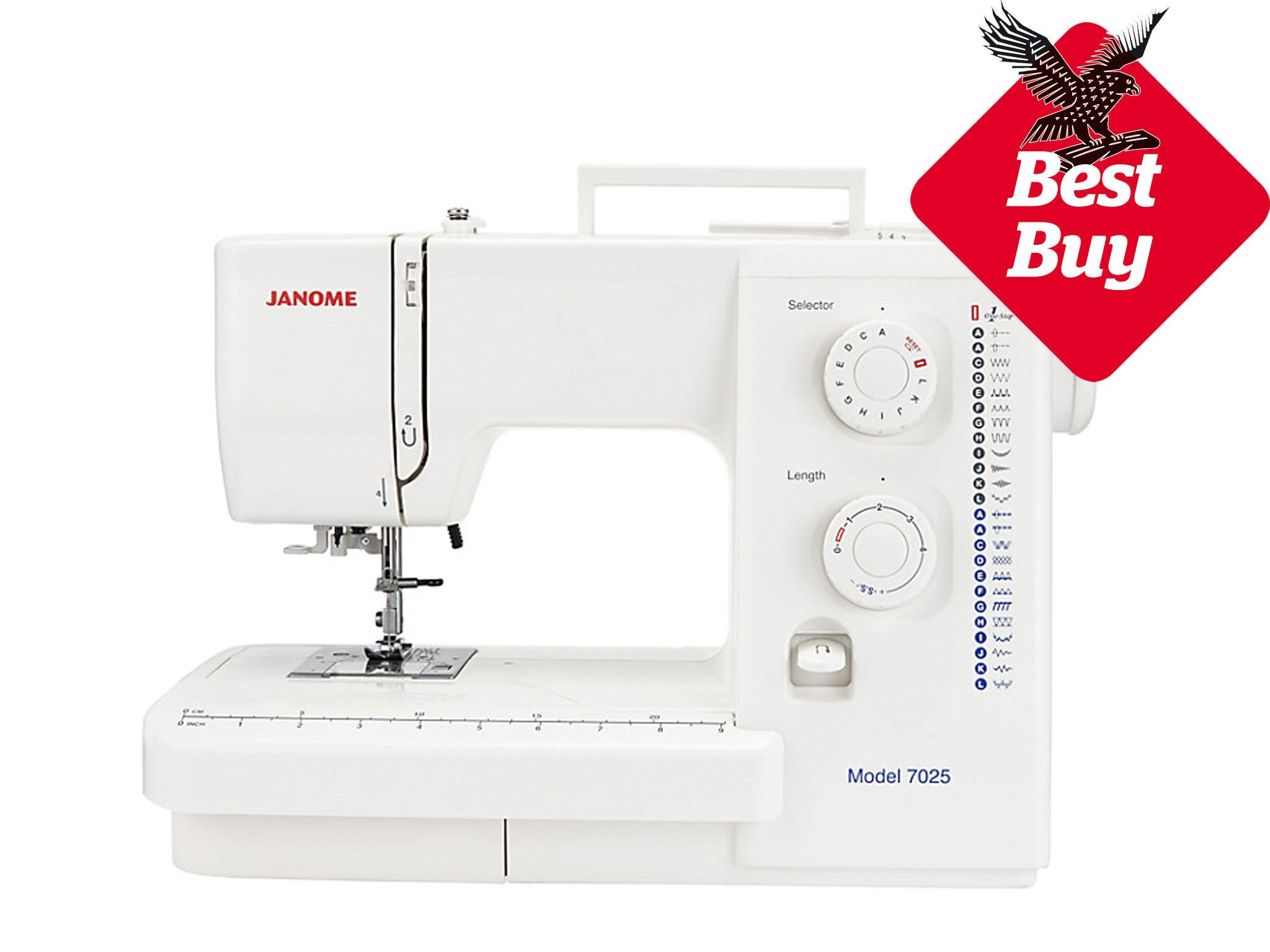 7 best sewing machines for beginners the independent janome 7025 sewing machine 219 john lewis fandeluxe Gallery