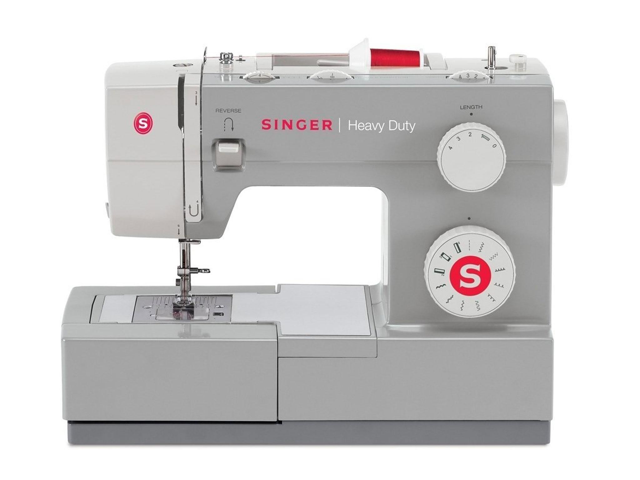 7 best sewing machines for beginners the independent as the name suggests this is a sturdy piece of kit that handles heavier upholstery fabrics denim leather and vinyl like a dream it stitches smoothly and fandeluxe Gallery