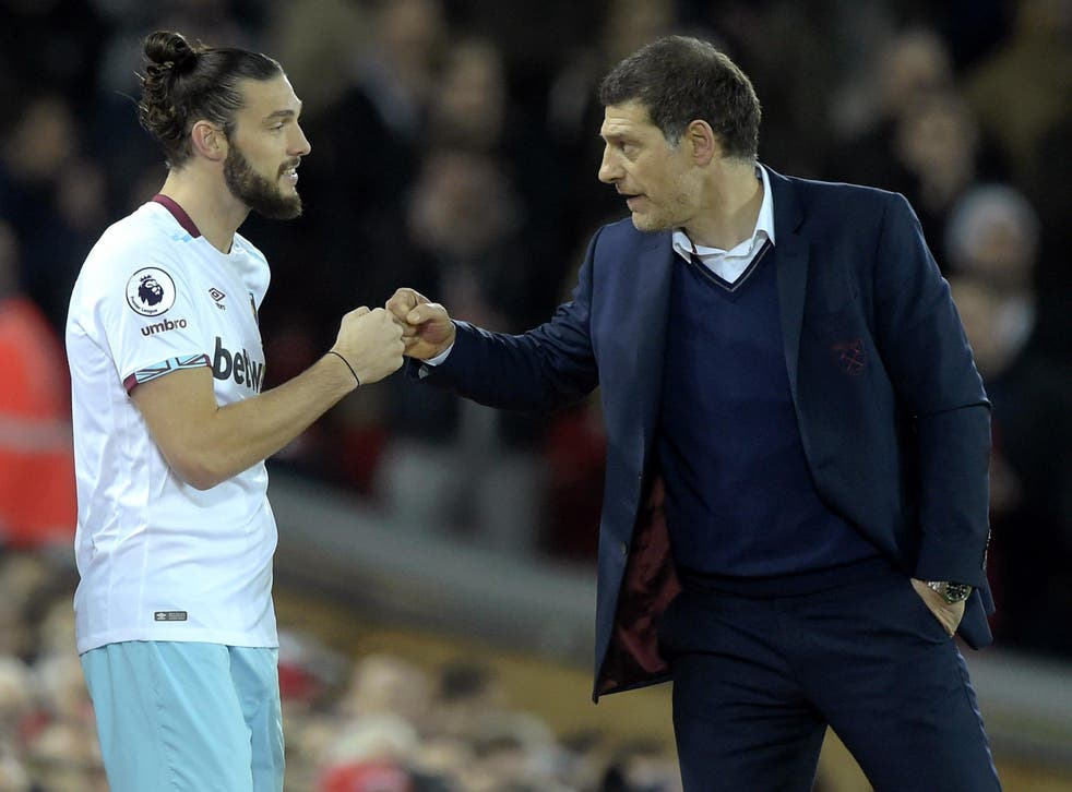 The striker has delighted Bilic since returning from injury
