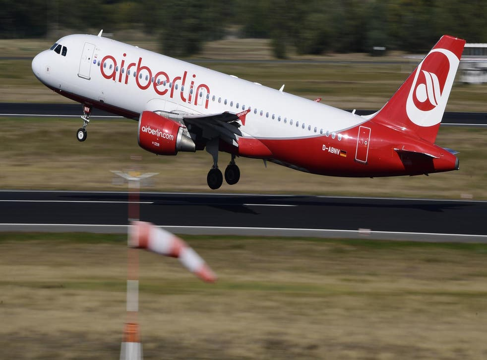 Passengers on an Air Berlin flight to Cancun were unlikely to have been in the party mood by the time they arrived