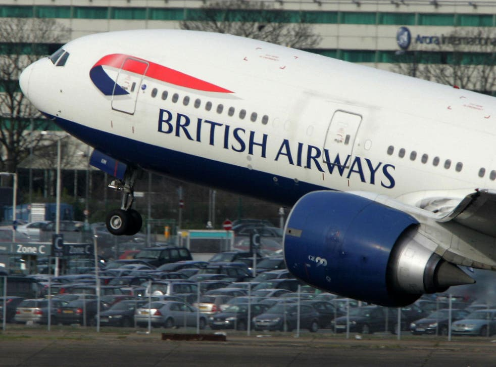 A British Airways Boeing 777 taking off. The airline is being hit by another strike this week