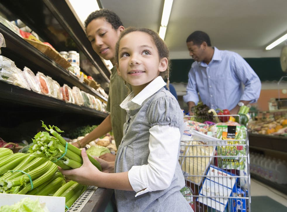 A good diet is key for a child's well-being