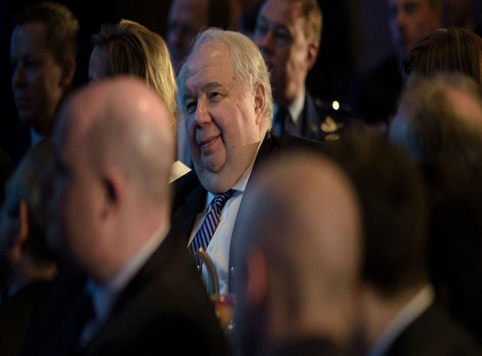 Sergey Kislyak met with many members of Mr Trump's team