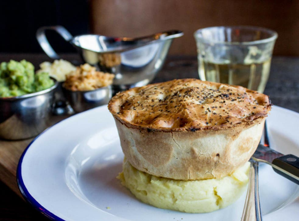 Choose from two Pieminster specials, The Guru and The Big Cheese