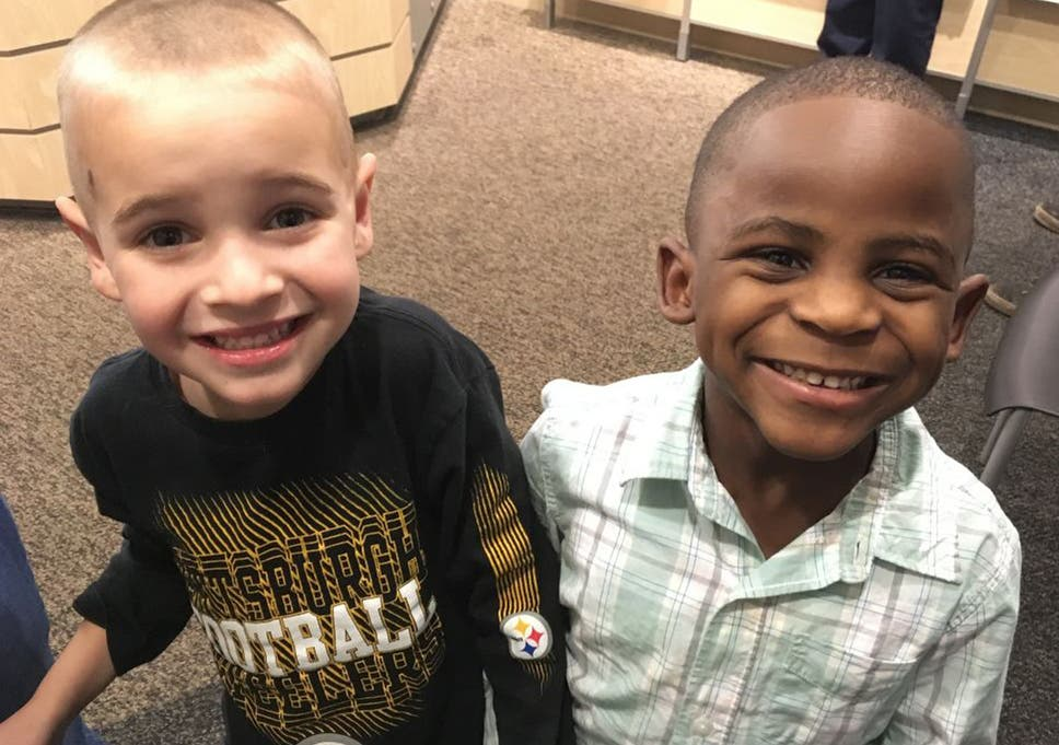 White Boy Asks For Same Haircut As Black Friend So Teacher Wont Be