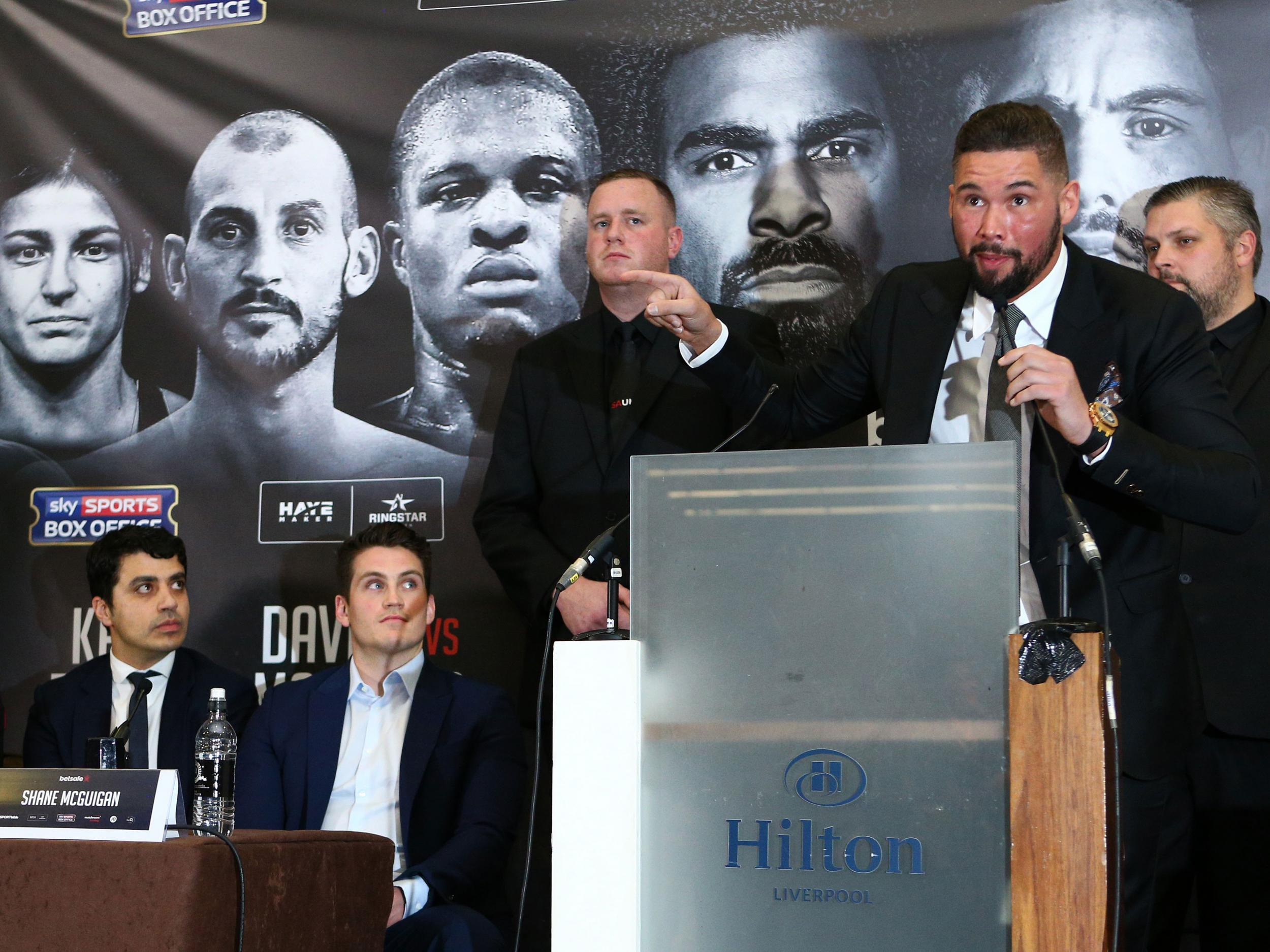 """""""I'm expecting the best David Haye, but it's not going to be there for very long. When it runs out, the big fat scouser will come through you like a steam train."""""""