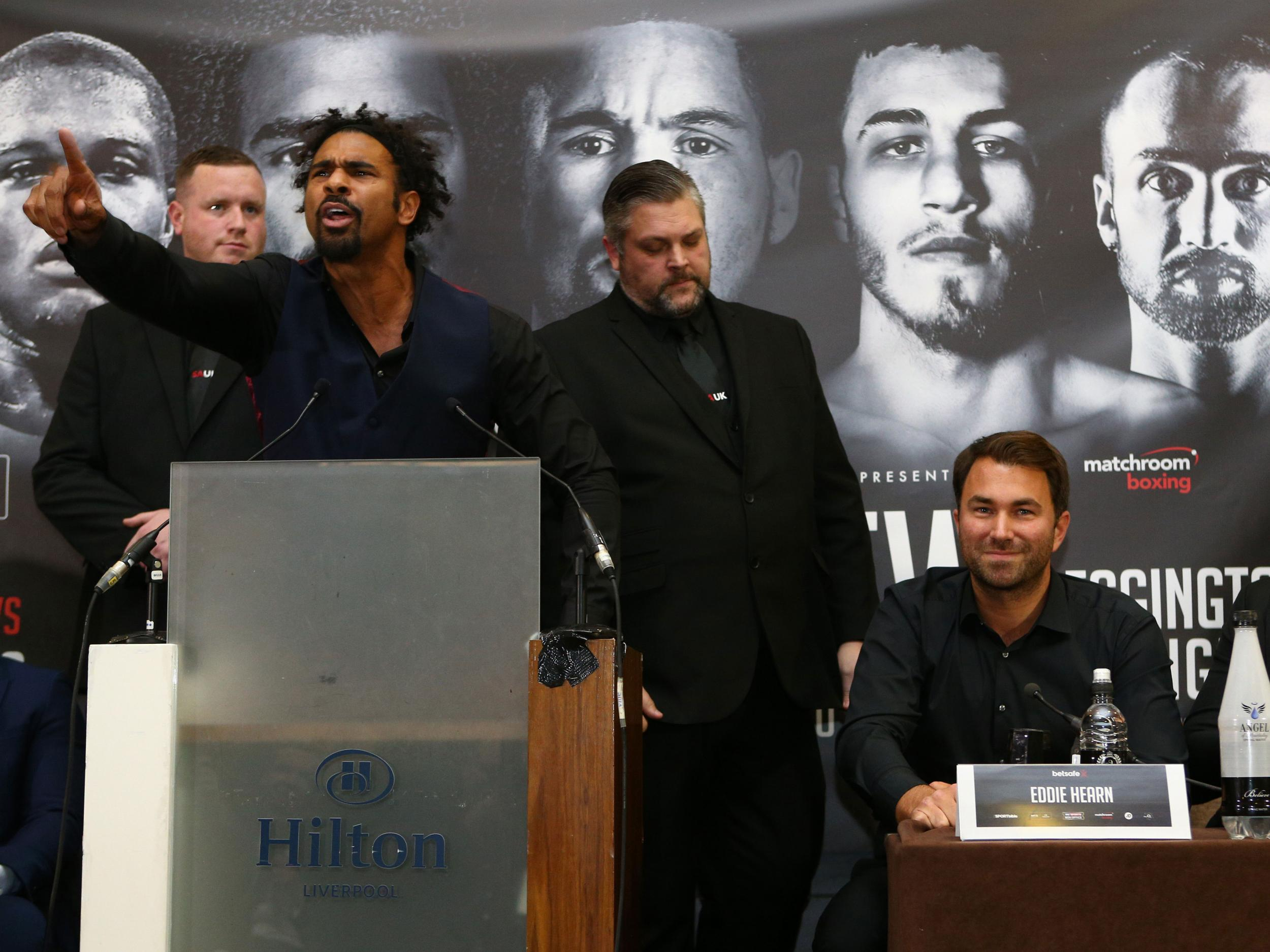 """""""Bet all the money you have. Each and every one of you should bet on Bellew to win the fight... f****** r******"""""""