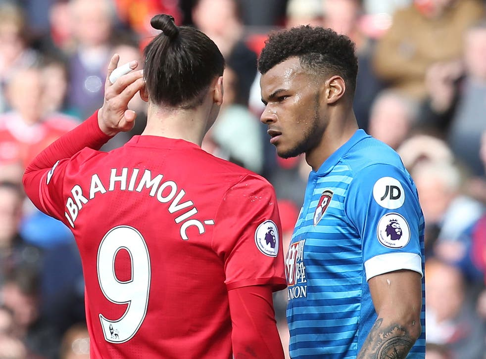 Mings and Ibrahimovic were at each other throughout the match