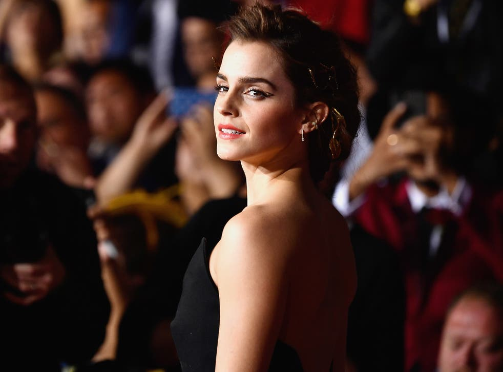 Actress Emma Watson attends Disney's 'Beauty and the Beast' premiere at El Capitan Theatre in Los Angeles, California