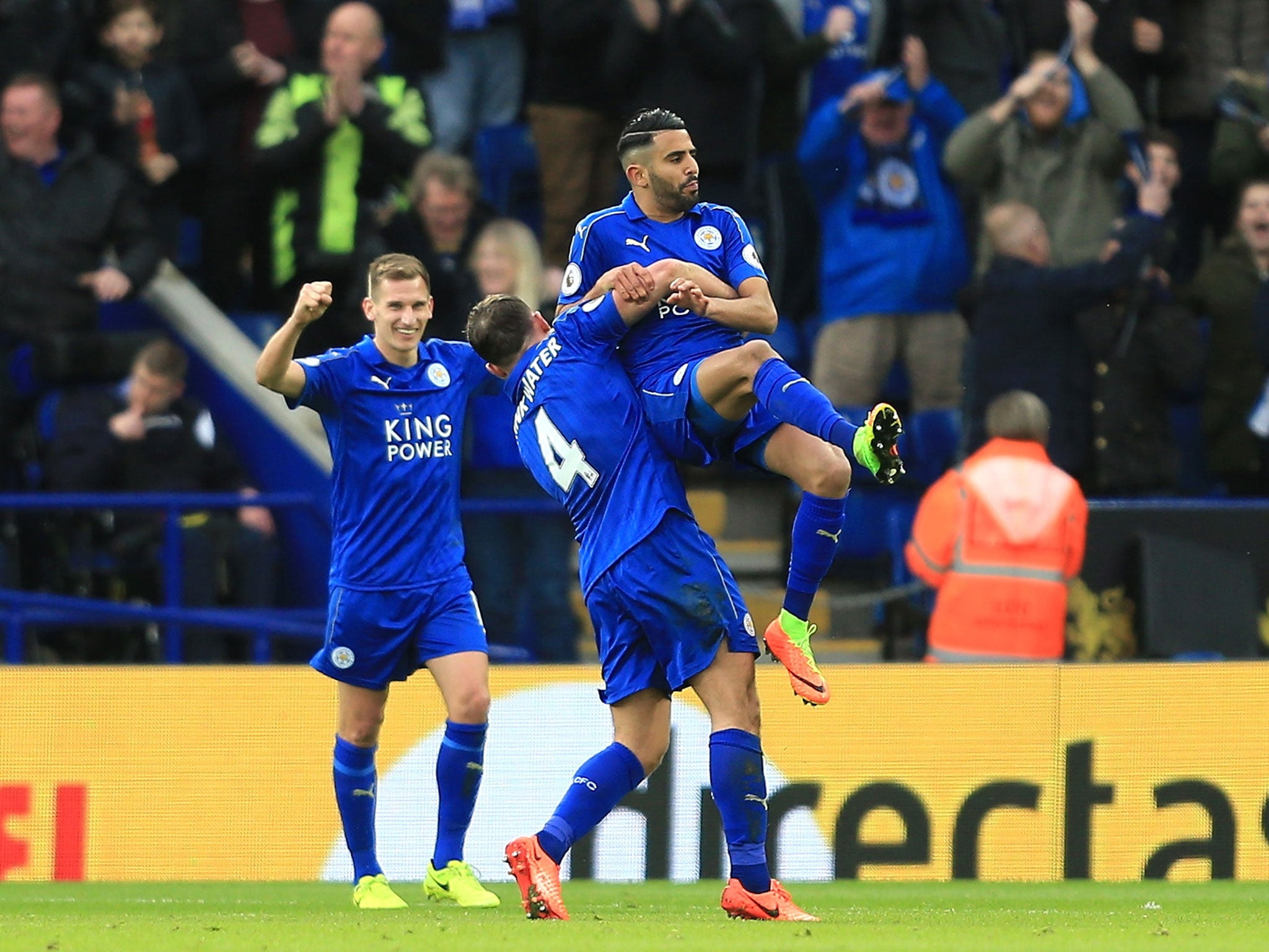 craig shakespeare learning quickly as he strengthens his case for mahrez signals leicester s return to form to pull away from hull