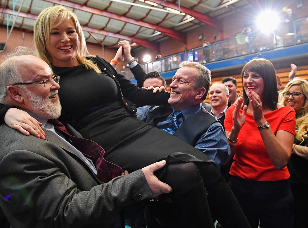 Sinn Fein made significant gains in the Northern Ireland elections