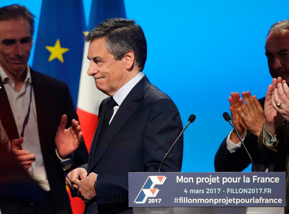 François Fillon has refused to step down from the French presidential race