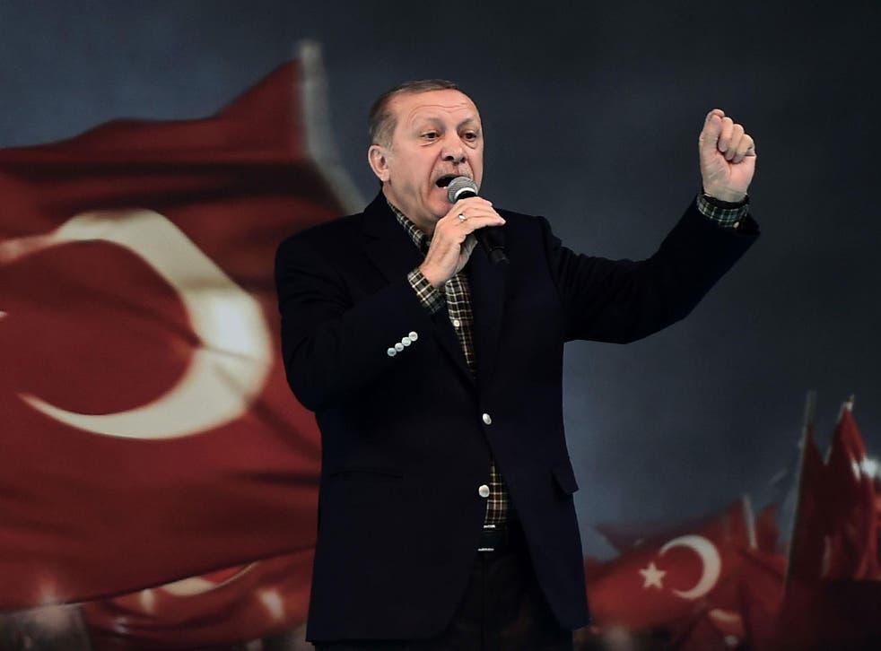 'Mr Erdogan is reacting like a stubborn child who can't get his own way,' Julia Kloeckner, deputy leader of German Chancellor Angela Merkel's Christian Democratic Union said