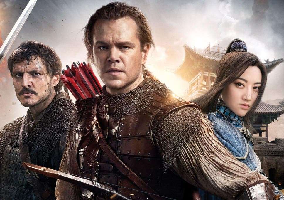 the great wall matt damon film set to lose 75 million puts future
