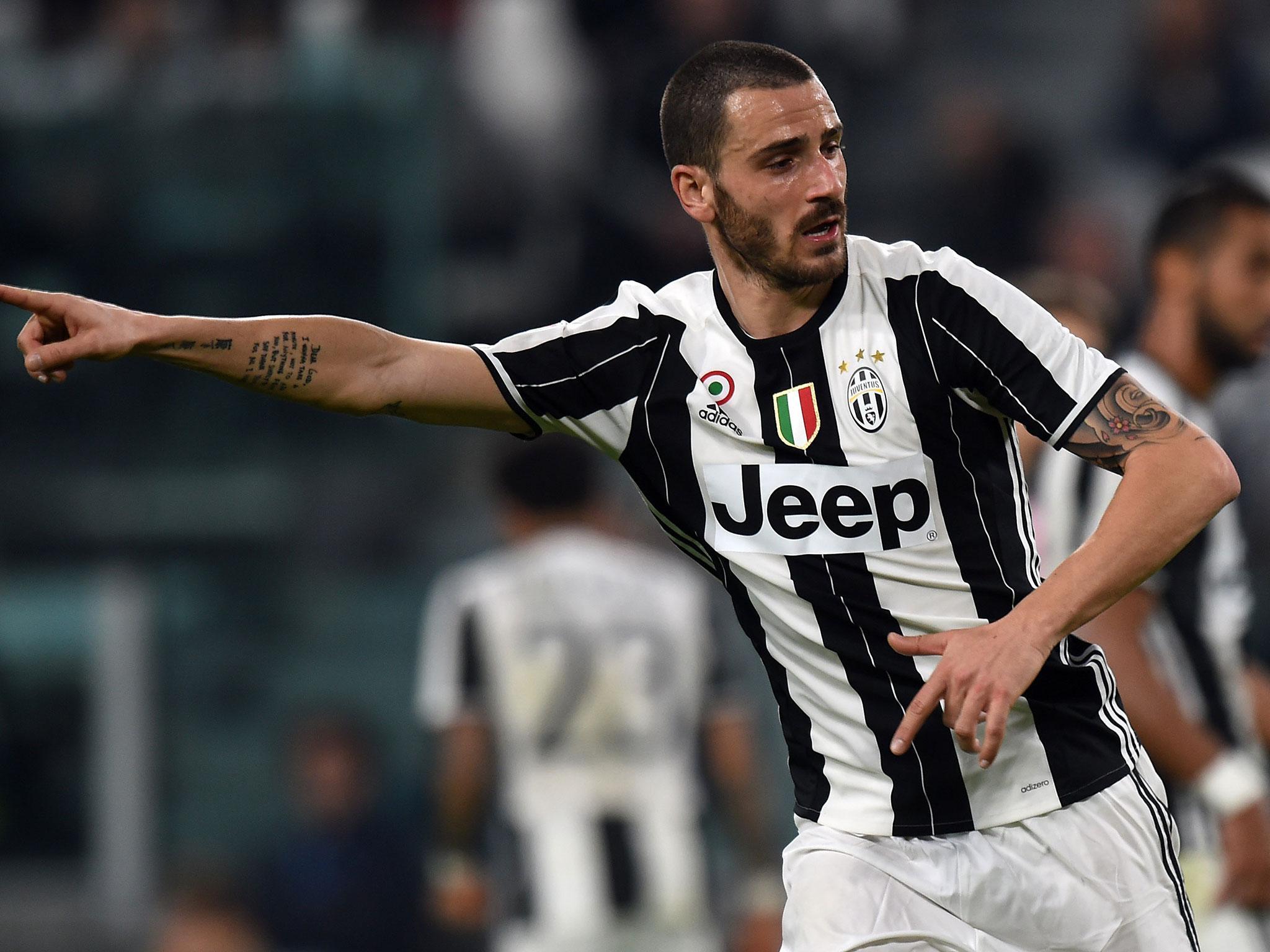 Manchester City and Chelsea tar Leonardo Bonucci admits