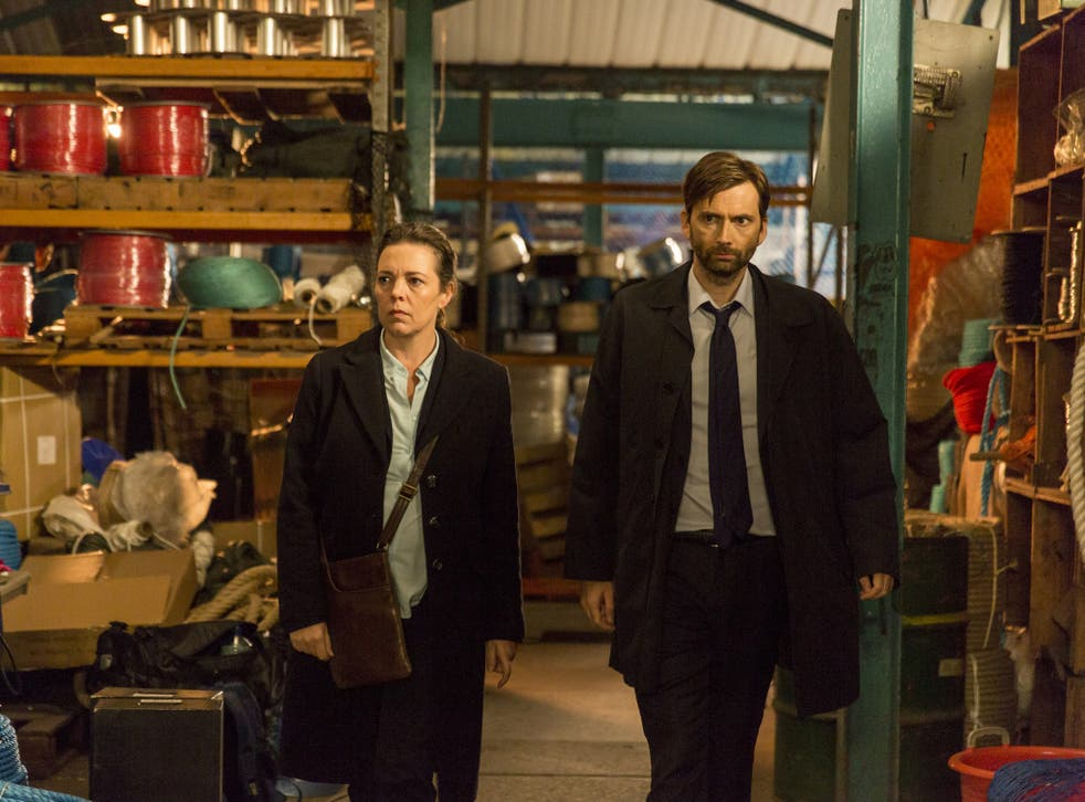 DI Hardy (David Tennant) and DS Miller (Olivia Colman) were on the hunt for clues in this second outing
