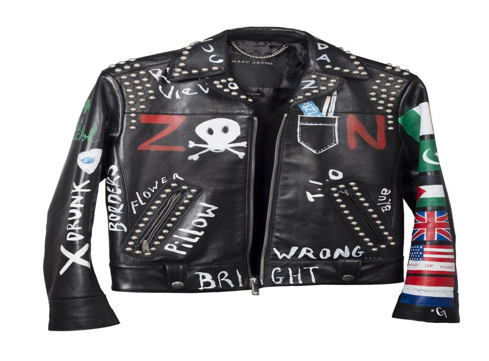 Zayn Malik's leather jacket was donated into a prize draw hosted by Givergy