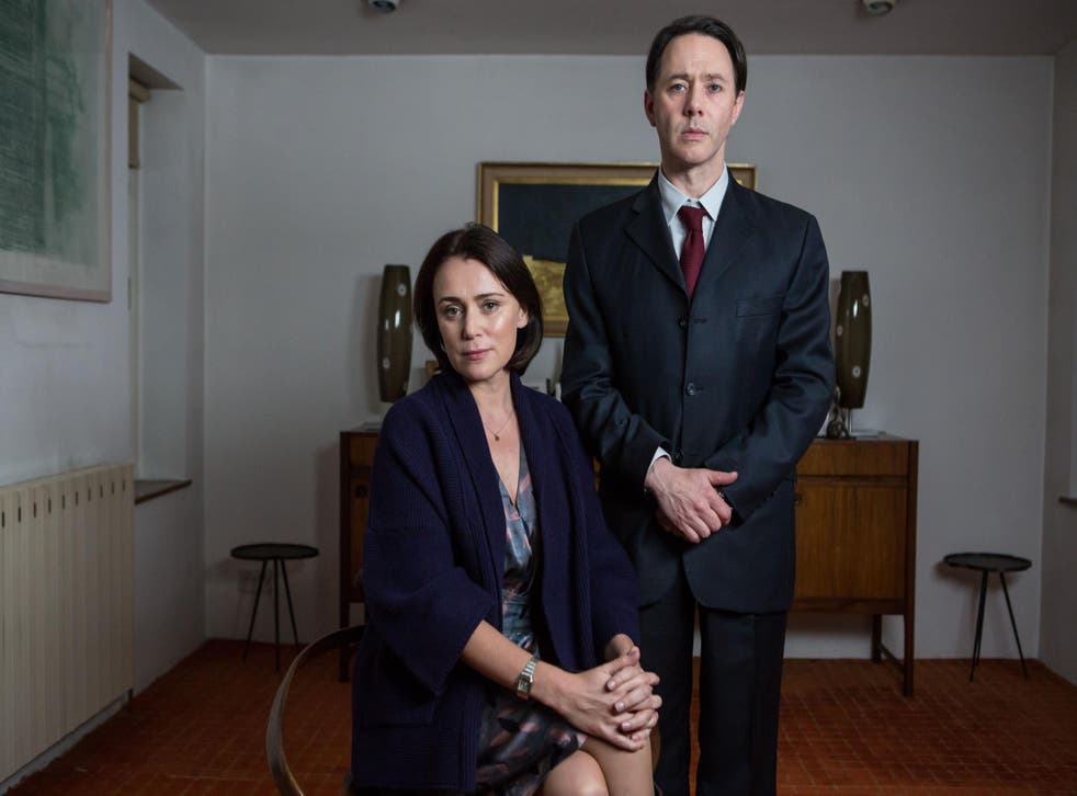A stray shoe causes havoc for Reece Sheersmith and Keeley Hawes in 'Inside No 9'