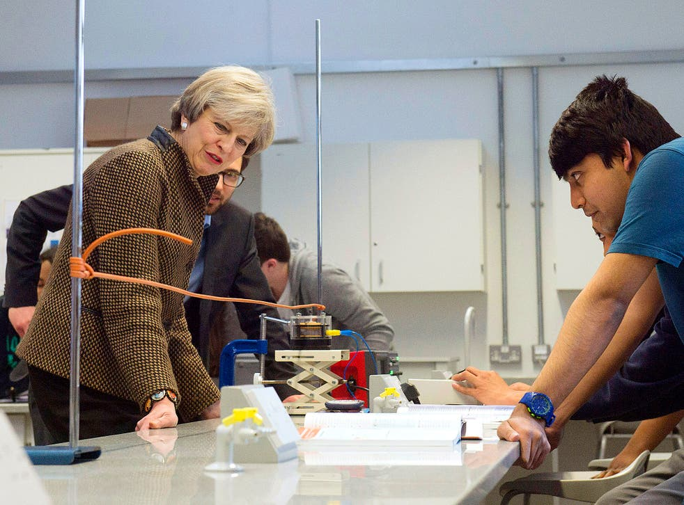 The Prime Minister met students at London Mathematics School at King's College London yesterday