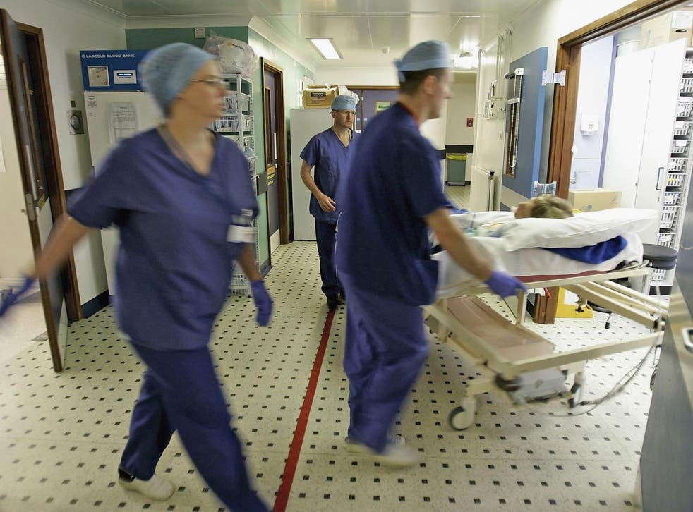 More than 31,000 extra beds had to be provided by NHS hospitals in first week of January