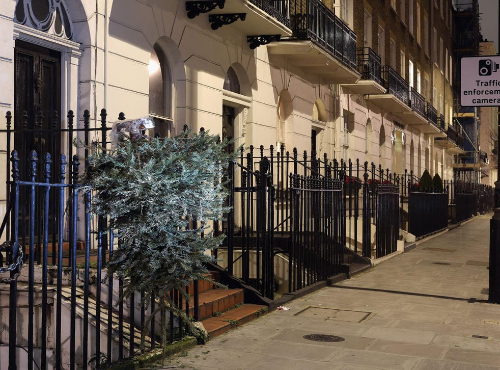 Upmarket London housing had seen prices fall but latest data suggests this trend may have reversed