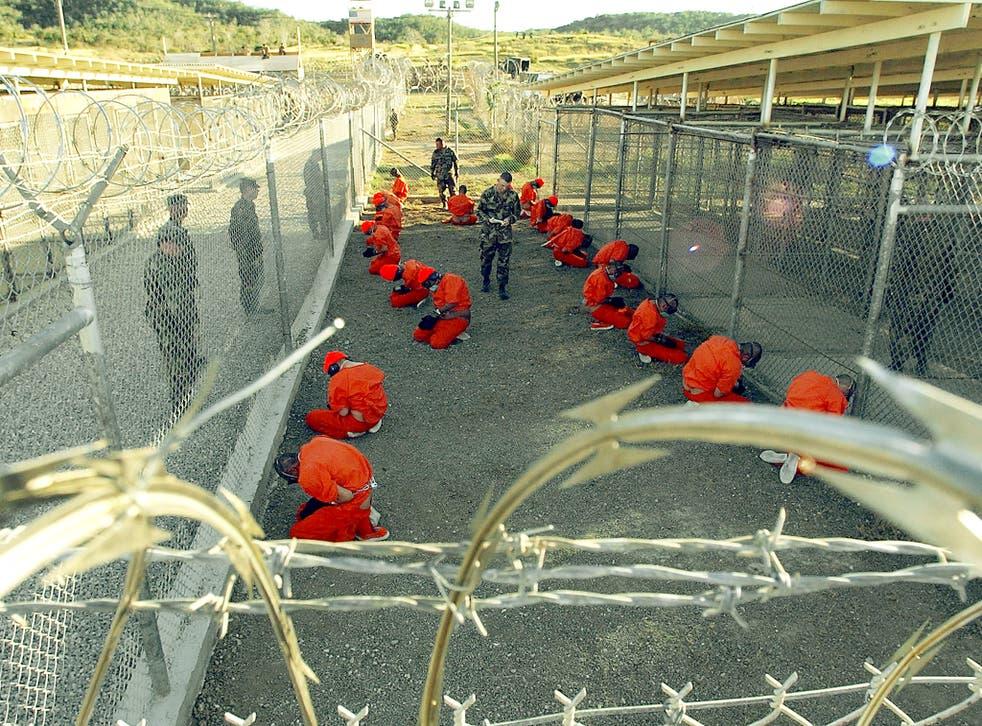 X-Ray vision: Islamist terror suspects in Guantanamo Bay prison in 2002