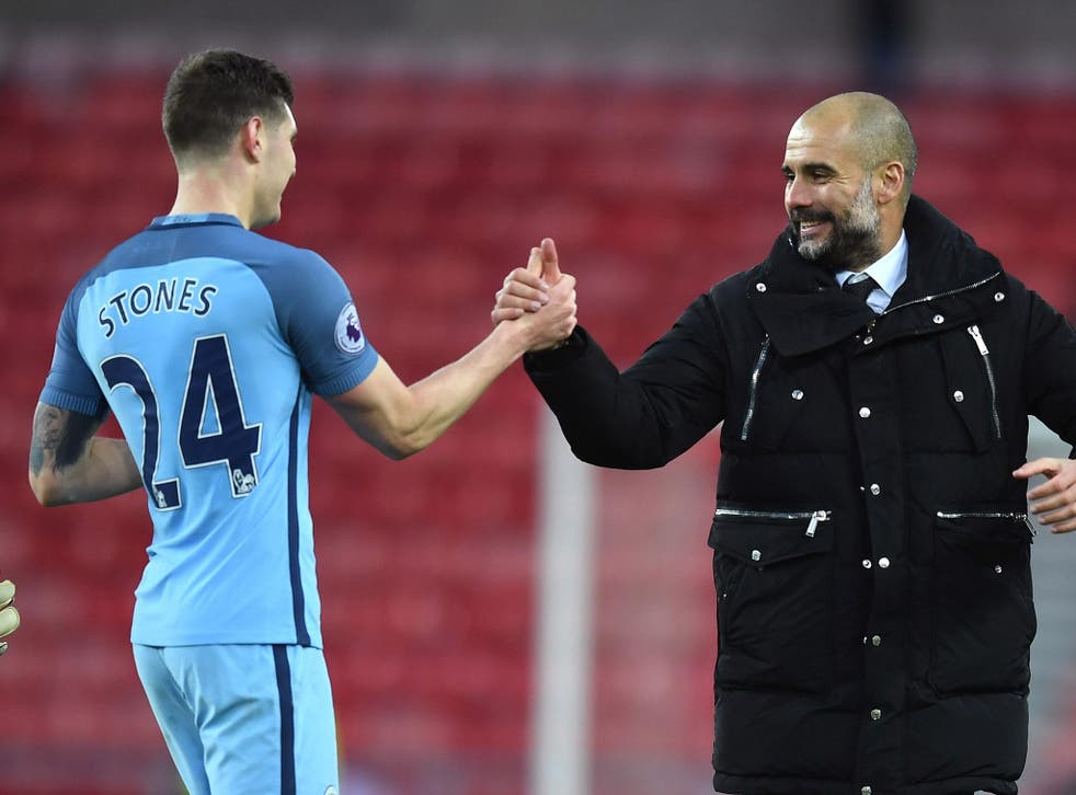 Stones was one of City's best players in the 1-1 draw