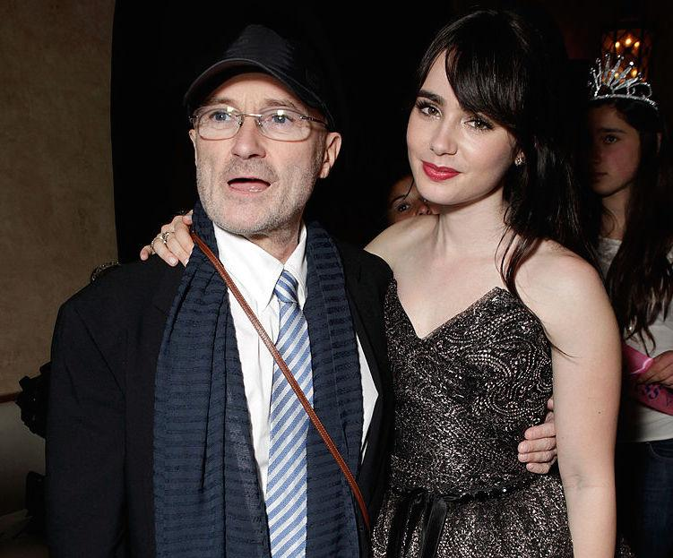Lily Collins writes honest open letter to her father Phil ...