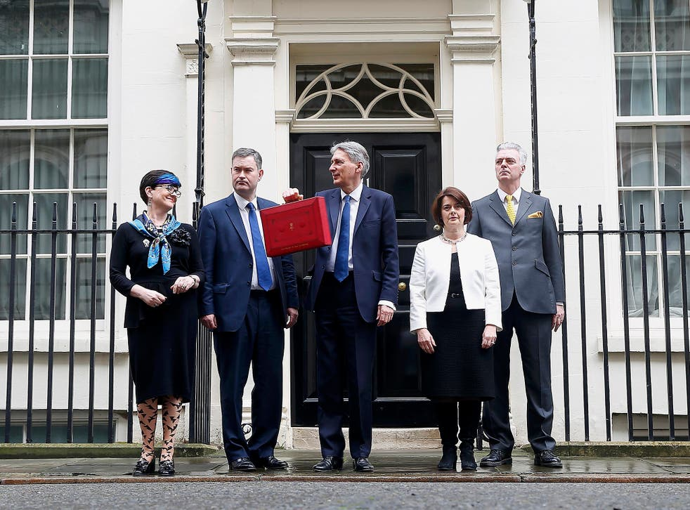 The Chancellor's Budget rightly went after a group who have been getting away with financial murder