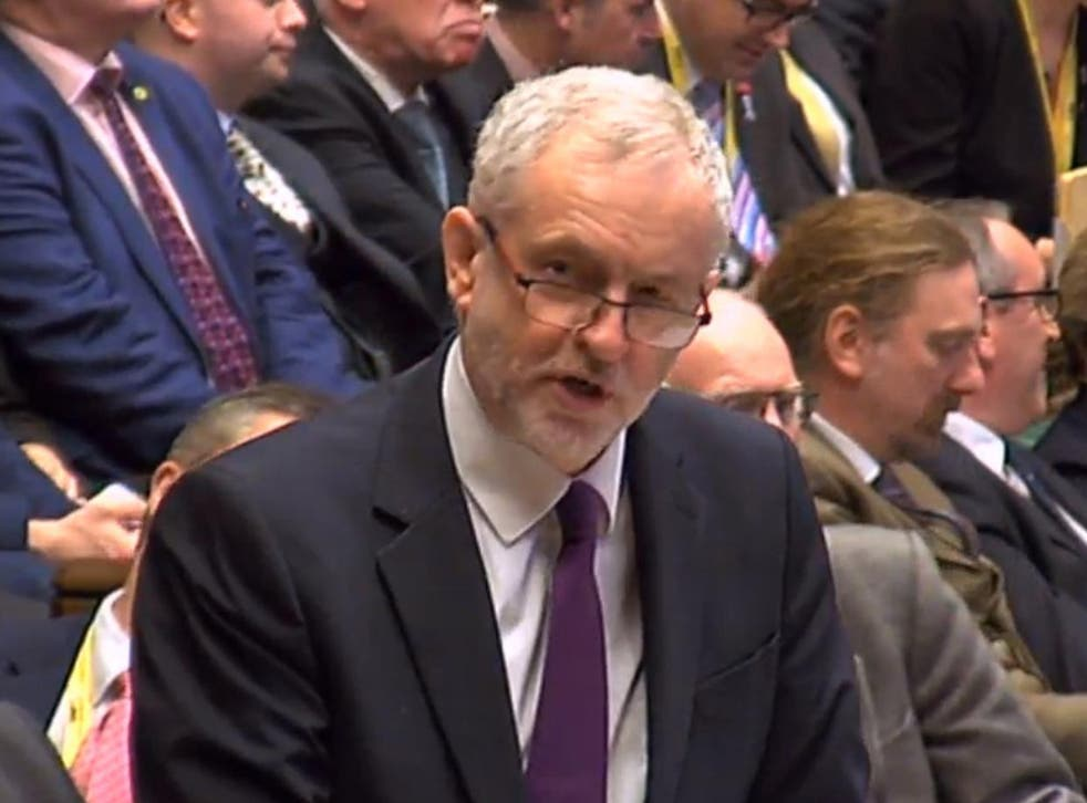 Jeremy Corbyn also said the Budget fails to provide the funding needed for the NHS crisis