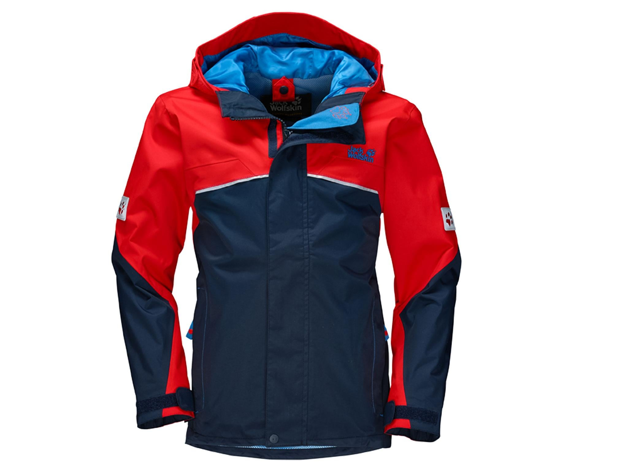 0093cc0e39b Jack Wolfskin Topaz 3-in-1 Boys  Raincoat (18 months to 14 years)  £65