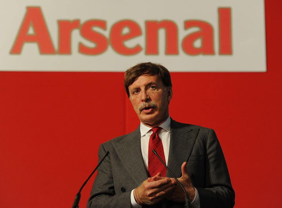 When Kroenke speaks about Arsenal there is only utter equanimity