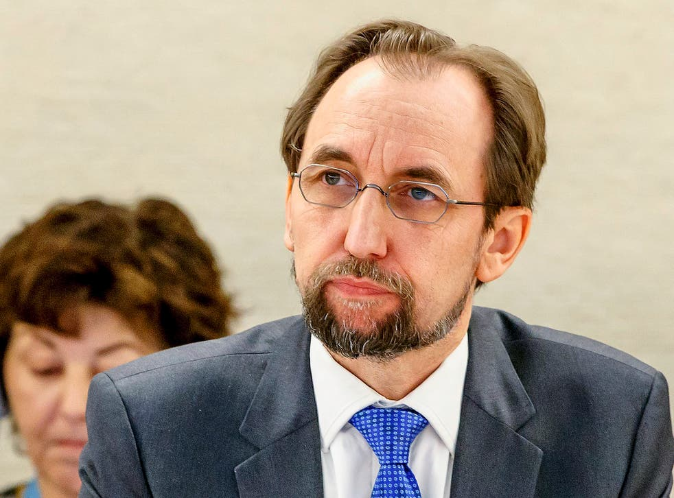 Zeid Ra'ad al-Hussein accused the Government of using terrorism as a 'pretext' to violate human rights laws