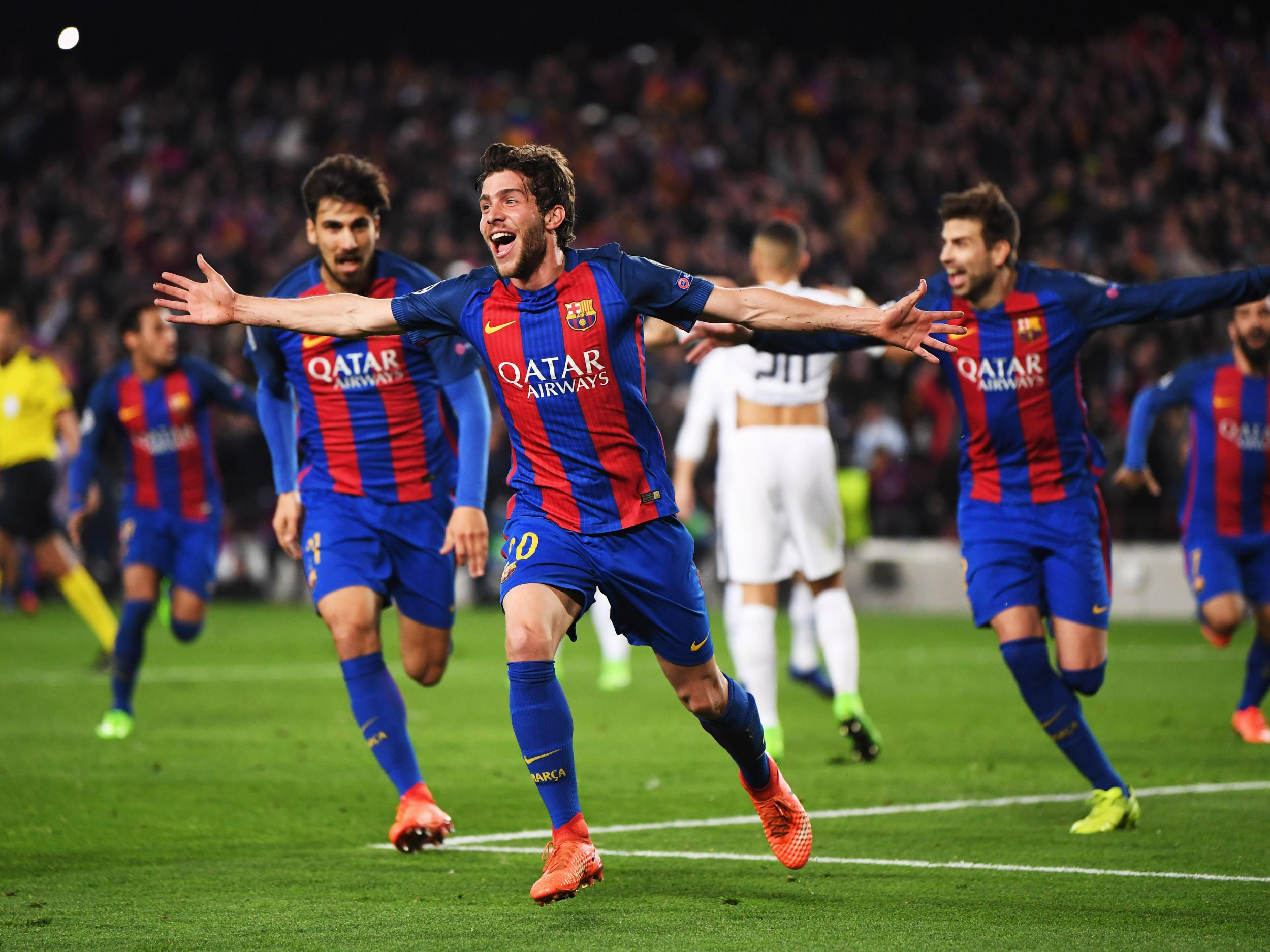 Barcelona hit PSG for six in one of the greatest comebacks of all-time