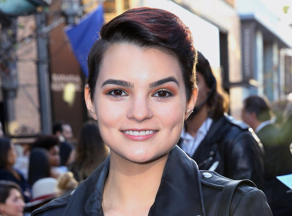 Brianna Hildebrand On Deadpool New Teen Lesbian Drama First Girl I Loved And Coming Out As Gay It Wasn T Planned I Just Met My Girlfriend On Set The Independent The