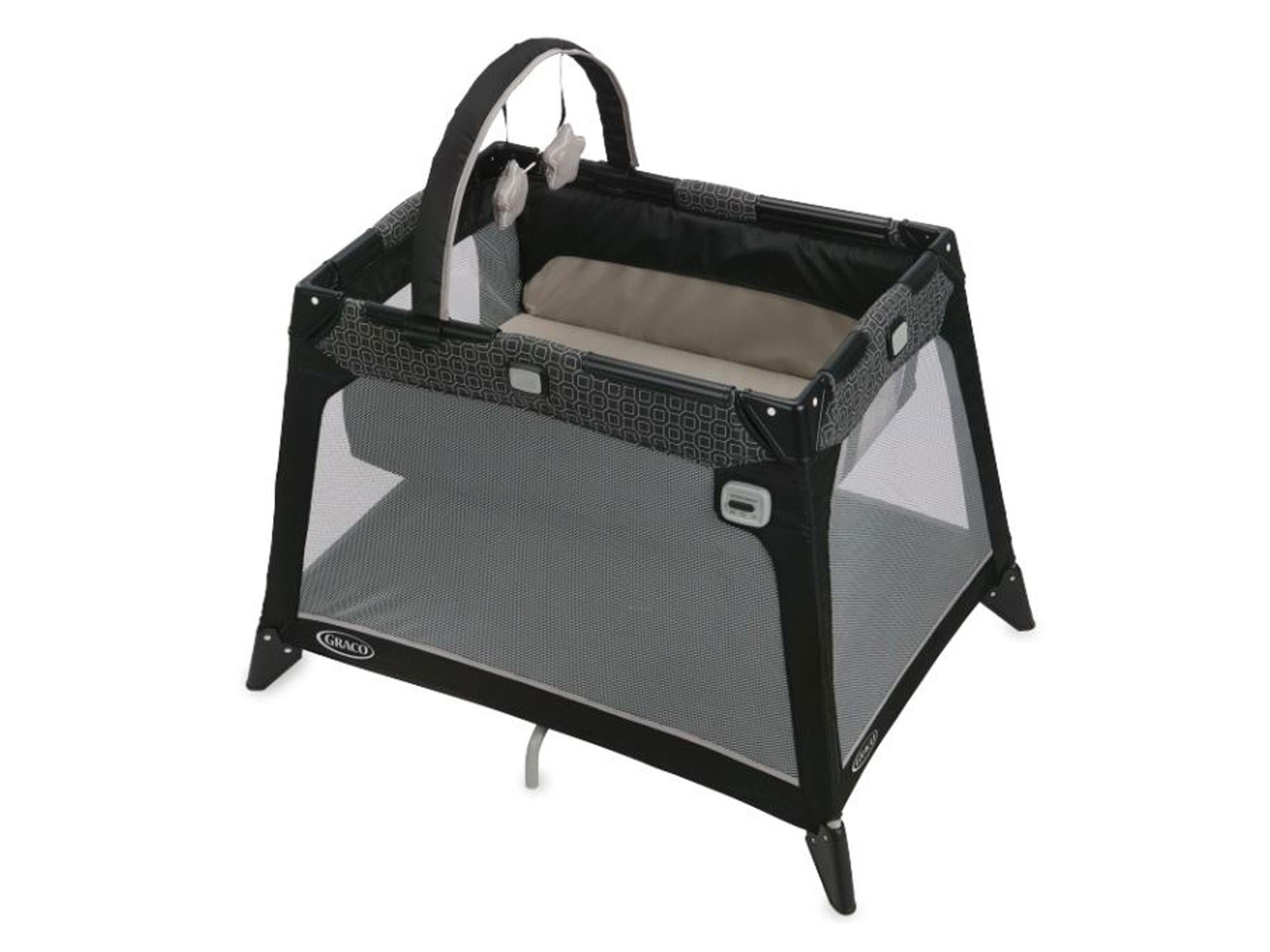 travel teds a cribs solution and your weight families sleeping light the for crib review phil on go infant traveller