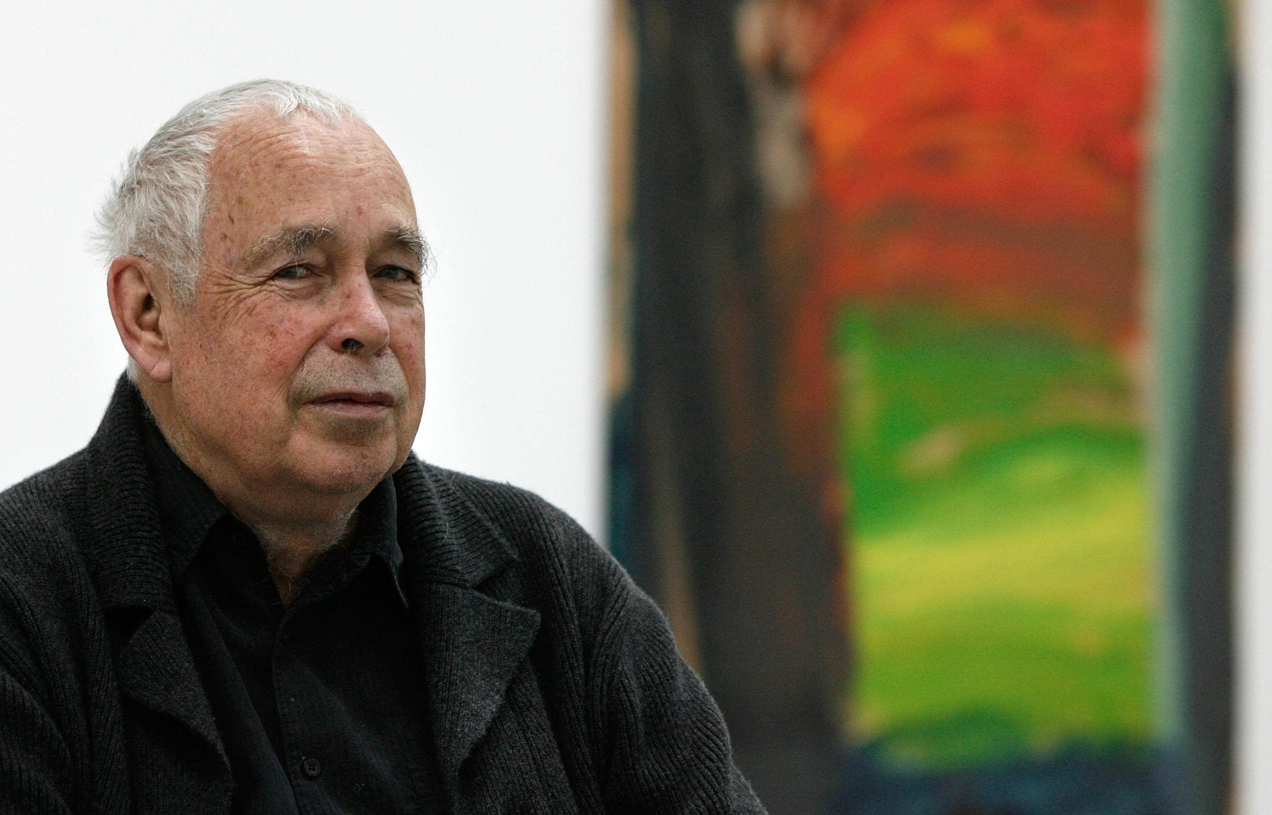 howard hodgkin dead renowned abstract painter dies aged