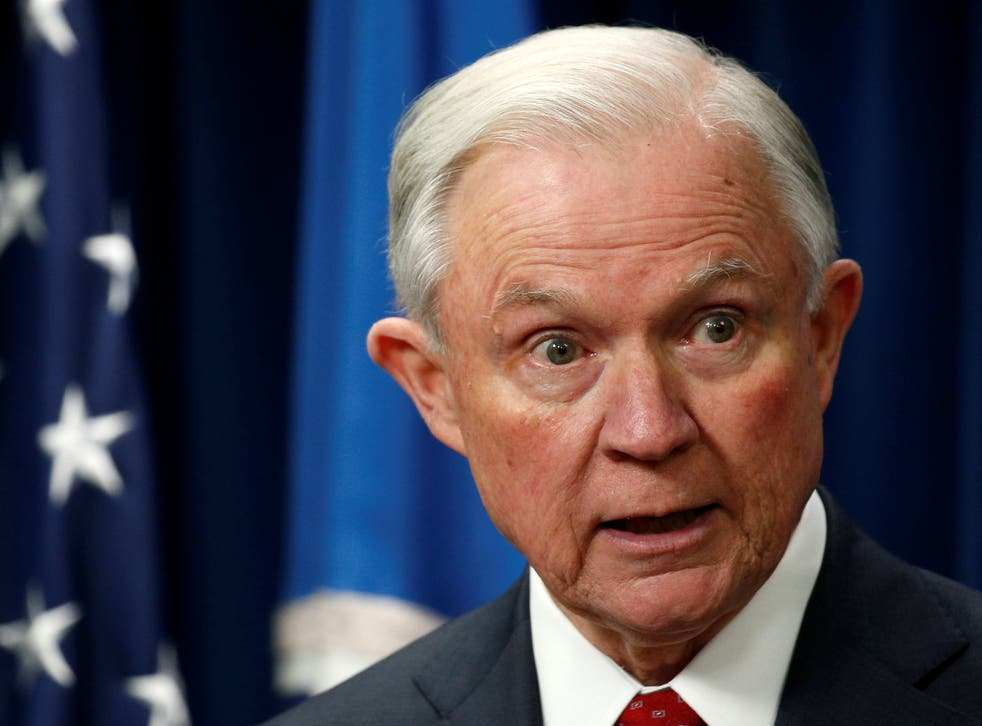 Jeff Sessions was among those pushing President Trump's zero -tolerance border policy