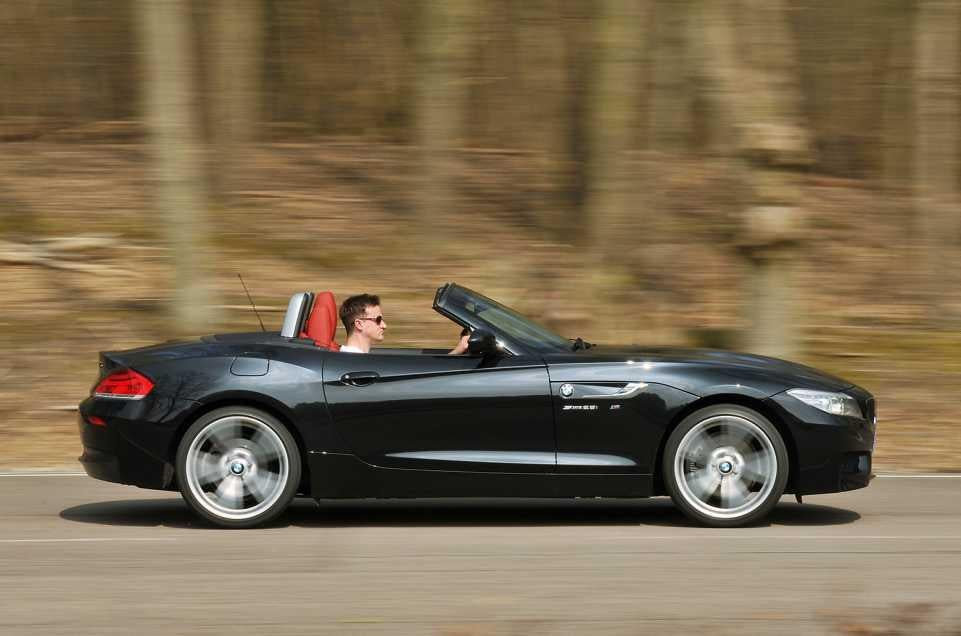 Luxury Convertibles Tested Audi Tt Roadster Vs Bmw Z4