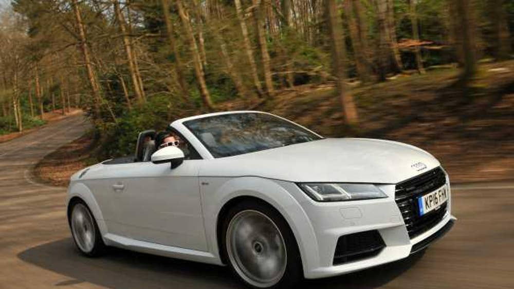 Luxury Convertibles Tested Audi TT Roadster Vs BMW Z The Independent - Audi sports car convertible