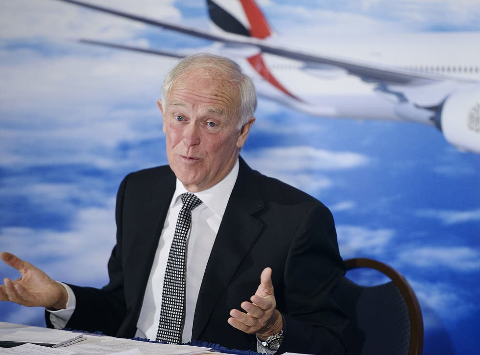 Sir Tim Clark said the first US travel ban from seven majority-Muslim countries triggered an immediate fall in booking rates from Dubai to the US