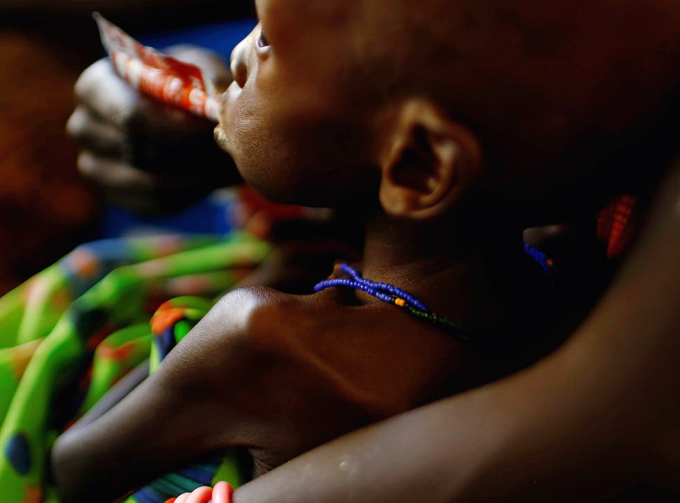 Millions of people are at risk of starvation in South Sudan