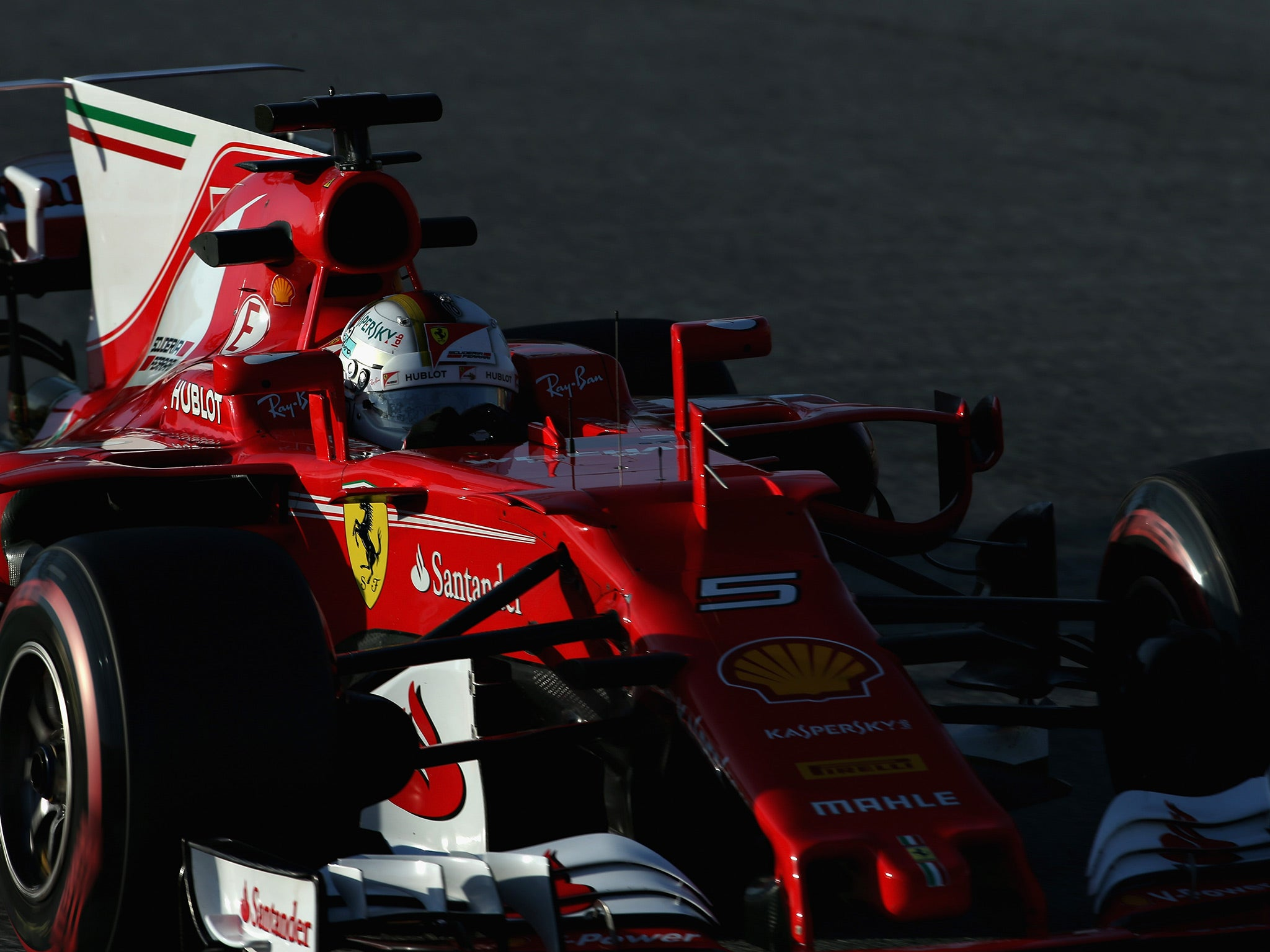 Sebastian vettel insists mercedes are still formula one s top dogs the independent