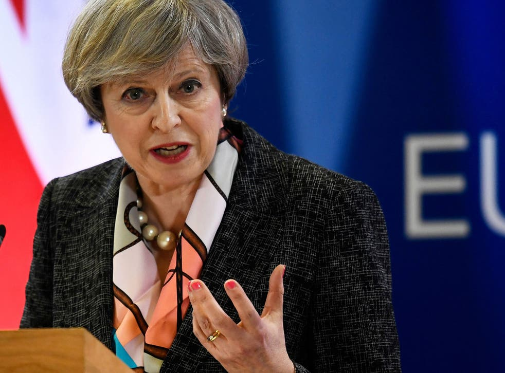 The Prime Minister said in a speech outlining her Brexit plan earlier this year that 'no deal' would be better than a bad one
