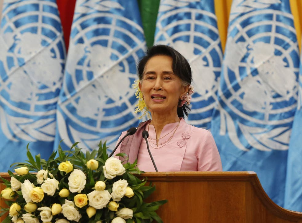 UN reports of mass killings of Rohingya Muslims in Burma are an 'internal affair', said a spokesperson for the country's leader Aung San Suu Kyi