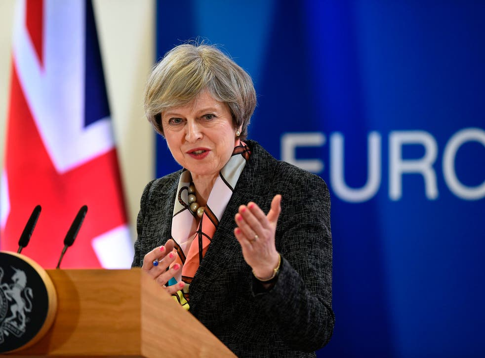 Theresa May will seek a favourable deal with the EU as Britain prepares for Brexit, but the alternative is now looking more likely