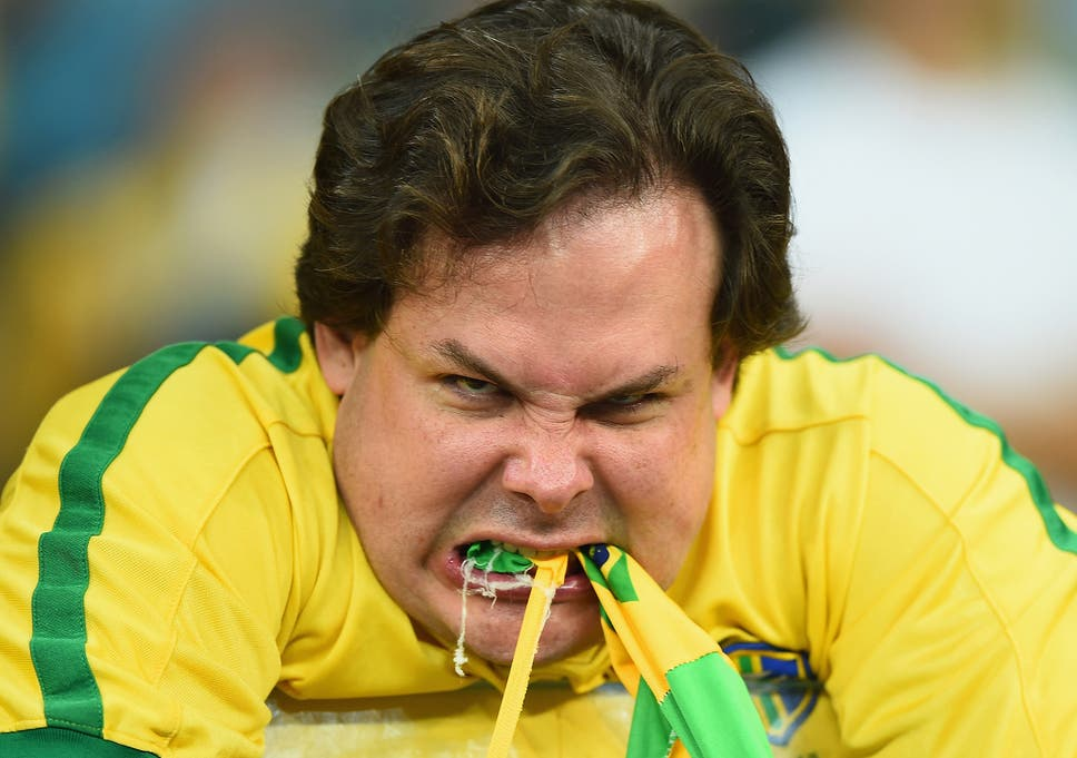 0c701e352dcd This image of this Brazil fan went viral after his side s 7-1 humiliation at
