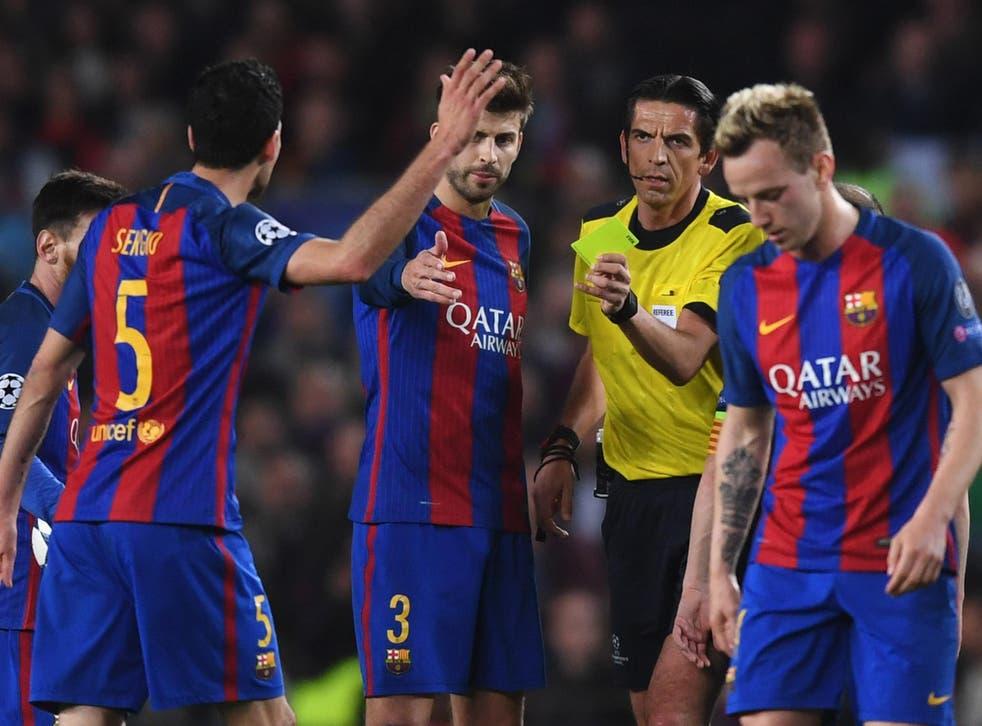 Aytekin awarded Barcelona a controversial injury-time penalty